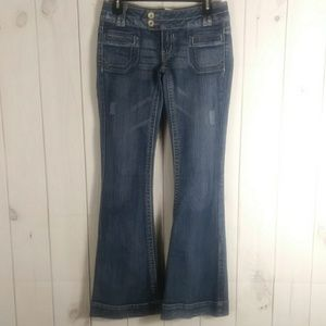 Candies flare leg jeans size 3